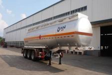 運力11.1米31.6噸3軸易燃液體罐式運輸半掛車(LG9403GRY)