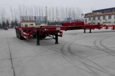 远东汽车12.2米33.7吨3轴危险品罐箱骨架运输半挂车(YDA9402TWY)