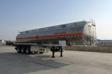 楚胜12.8米33吨3轴铝合金运油半挂车(CSC9403GYYLD)