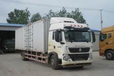 重汽豪沃(HOWO)国五单桥厢式运输车239-337马力5-10吨(ZZ5187XXYN711GE1)