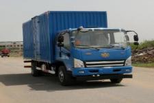 一汽解放轻卡国五单桥厢式运输车124-165马力5吨以下(CA5105XXYP40K2L4E5A84)