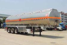 醒狮12米33.3吨3轴铝合金运油半挂车(SLS9405GYYA)