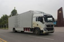 重汽豪沃(HOWO)国五单桥厢式运输车239-337马力5-10吨(ZZ5187XXYN711GE1H)
