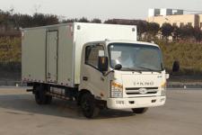 唐骏汽车国五单桥厢式运输车95-131马力5吨以下(ZB5042XXYJDD6V)