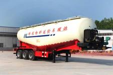 雨辰10.4米31.2吨3轴低密度粉粒物料运输半挂车(SCD9403GFL)