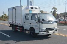 江铃顺达双排3米2冷藏车小型厢式运输车五座款