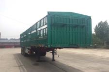 青特12.5米33.6噸3軸倉柵式運輸半掛車(QDT9400CCY)