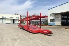 铮铮12米10.9吨2轴中置轴车辆运输挂车(YAJ9170TCL)