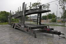 威腾12米10吨中置轴车辆运输挂车