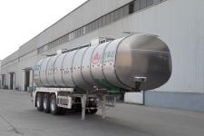 万事达10.8米33.8吨3轴铝合金食用油运输半挂车(SDW9404GSY)