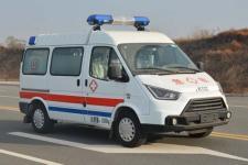江铃特顺救护车(汽油,长轴中顶)
