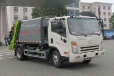 6立方大运压缩式垃圾车