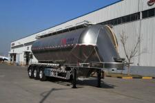 万事达10.9米33.9吨3轴铝合金中密度粉粒物料运输半挂车(SDW9400GFLA)
