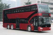 12.3米|31-72座宇通纯电动双层城市客车(ZK6126BEVGS3)