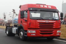 解放单桥平头柴油牵引车284马力(CA4181P1K2E5A80)