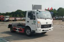 楚风牌HQG5040ZXXEV2型纯电动车厢可卸式垃圾车