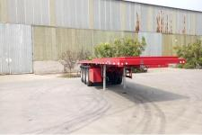 纳发祥12米32.4吨3轴平板自卸半挂车(FMT9403ZZXP)