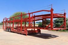 赛采埃孚克13.8米14吨2轴车辆运输半挂车(TGT9221TCL)