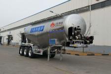 万事达8.8米34.2吨3轴下灰半挂车(SDW9405GXHA)