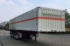 华骏11米32.3吨3轴杂项危险物品厢式运输半挂车(ZCZ9400XZWJ)