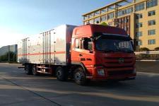 华通牌HCQ5310XZWEQ5型杂项危险物品厢式运输车