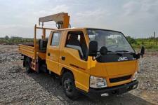 伴君长兴牌AAA5045JSQJX5型随车起重运输车