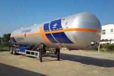 宏图13米2.2吨2轴永久气体运输半挂车(HT9330GTR)