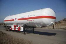 宝环13米2.2吨2轴中压气体罐式半挂车(HDS9330ZGQ)