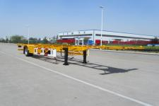 宇田12.3米12.1吨1轴空载集装箱运输半挂车(LHJ9150TJZ)