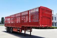 成事达12.5米34吨3仓栅式运输半挂车