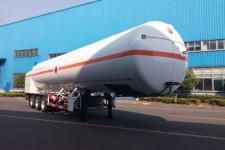 韩中深冷13米17.8吨3轴低温液体运输半挂车(ZHJ9400GDYA)
