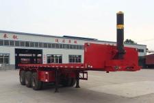 金君卫8.5米32.8吨3轴平板自卸半挂车(HJF9400ZZXP)