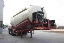 万事达9.4米31.8吨3轴中密度粉粒物料运输半挂车(SDW9402GFL)