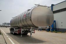万事达11.9米32.9吨3轴铝合金食用油运输半挂车(SDW9409GSY)