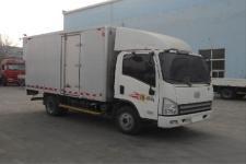 一汽解放轻卡国五单桥厢式运输车102-131马力5吨以下(CA5041XXYP40K2L1E5A84-3)
