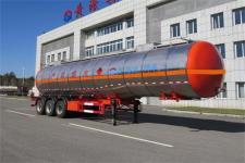 黄海12.7米29.7吨3轴易燃液体罐式运输半挂车(DD9408GRY)