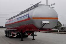 东风11.4米31吨3轴易燃液体罐式运输半挂车(DFZ9401GRY)