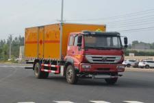 重汽易燃液体厢式运输车