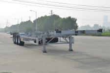欧曼14米35.3吨3轴集装箱运输半挂车(HFV9401TJZ)
