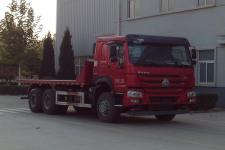 宏昌天马后双桥,后八轮平板自卸车国五280马力(HCL3257ZZN41P5L5)