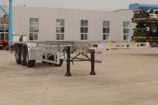 天骏德锦14米35.8吨3轴集装箱运输半挂车(TJV9409TJZG)
