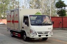 跃进国五3米3易燃液体厢式运输车