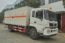 东风国五6米1腐蚀性危险物品厢式运输车