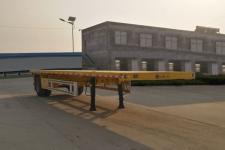 勇超8.6米15吨1轴平板运输半挂车(YXY9180TPB)