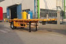 梁山东岳8.6米15.1吨1轴平板运输半挂车(CSQ9180TPB)