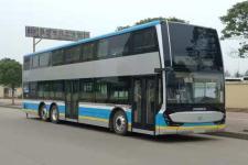 12.8米|37-71座广通纯电动双层城市客车(GTQ6131BEVST8)