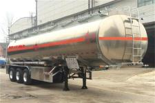 东风牌DFZ9408GYY型铝合金运油半挂车图片