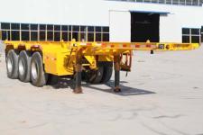 赛采埃孚克8.5米35.5吨3轴集装箱运输半挂车(TGT9401TJZ)