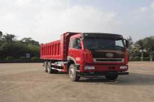 解放牌CA3256P2K2T1NE5A80型平头液化天然气自卸汽车图片