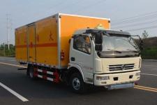 国五东风多利卡4米2易燃气体厢式运输车价格